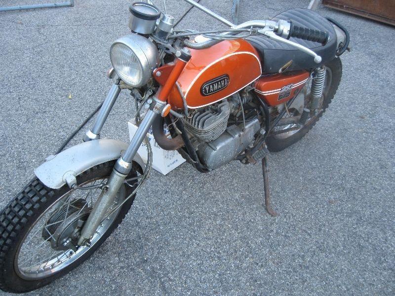 1971 Yamaha DT1F 250