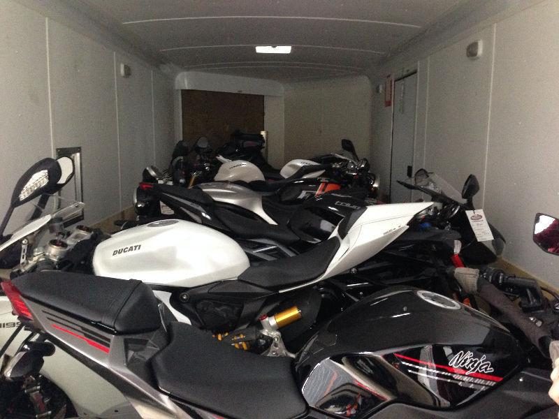 Motorcycle Trailers for Rent , Motorcycle Transport