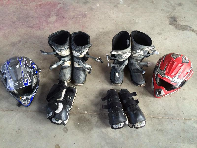 Youth 6 dirt bike boots