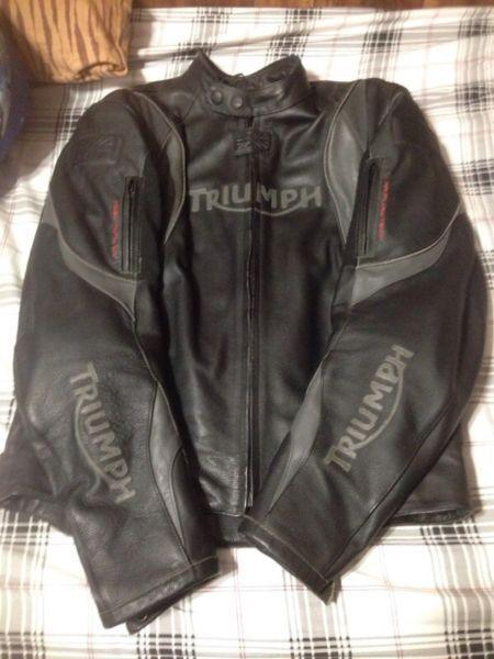 Triumph Motorcycle Riding Jacket $475 OBO