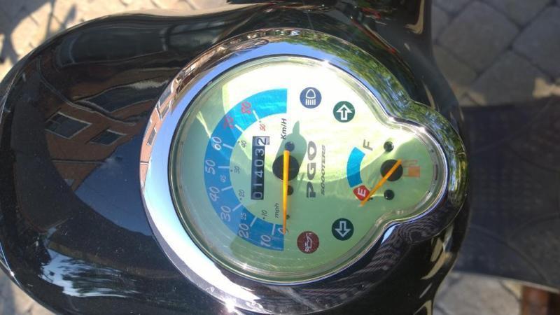 scooter PGO metro 50cc 2014