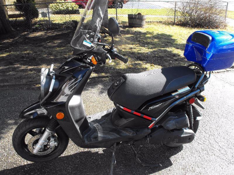 2010 Yamaha BW 125