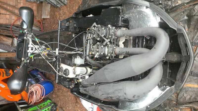 King cat or mountain cat slp twin pipes adds 18 hp