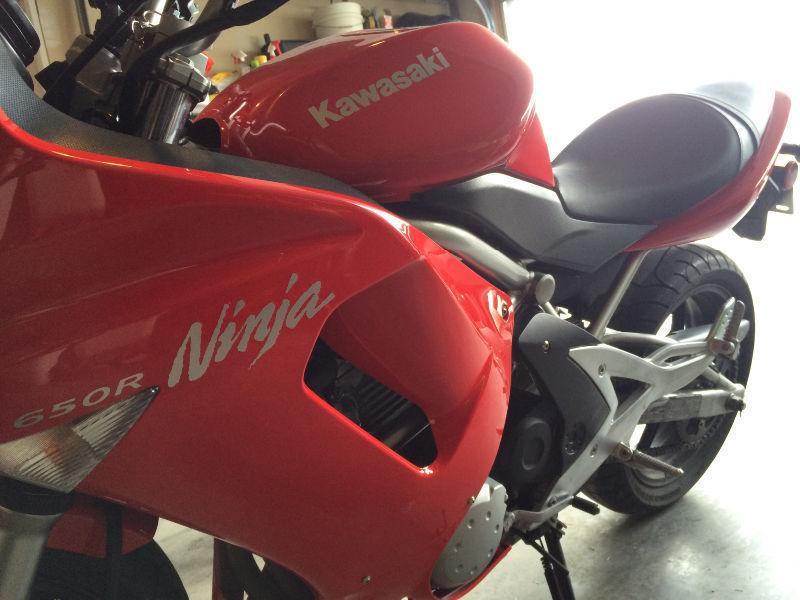2007 Kawasaki Ninja 650R LOW KM'S