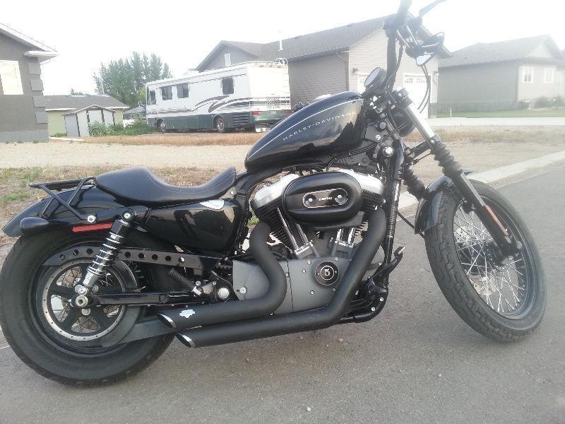 Bad Custom Harley