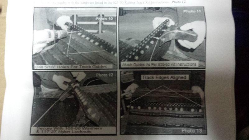 Kit de track (18 pouces) pour le pont d'un ARGO
