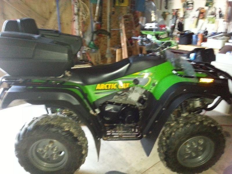 VTT - quad 500