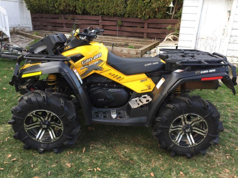 2012 Can-am Outlander XMR 800 Gen 2