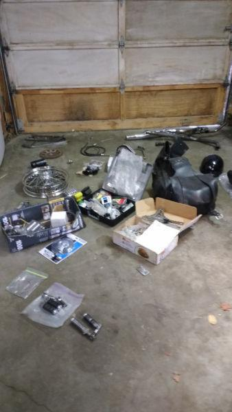 Used Harley parts 4 cheap