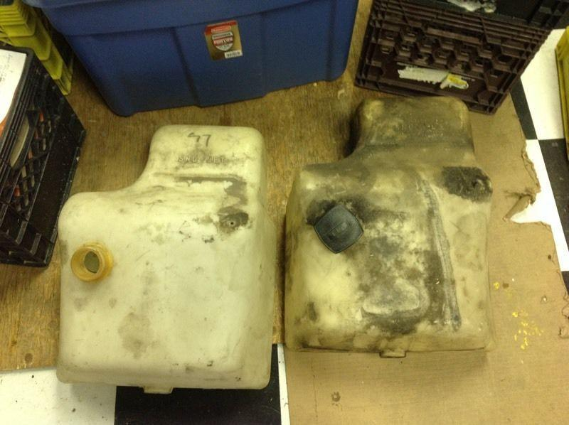 Sno-jet gas tanks for sale
