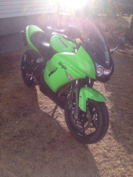 2008 Kawasaki Ninja 650R, Low km !!