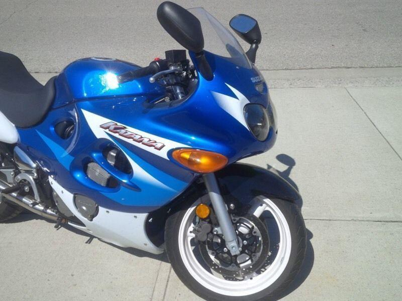2005 Suzuki Katana 600cc