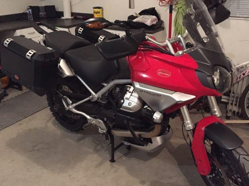 2009 Moto Guzzi Stelvio 1200 low km