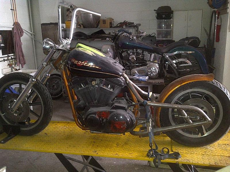1993 Harley Davidson Custom Drop-Seat Sportster Project