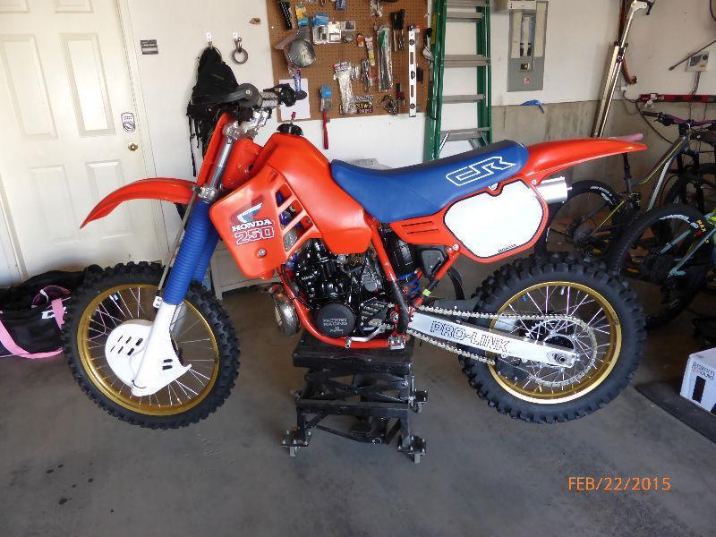 Full Restore New 1986 Modernized CR250 265
