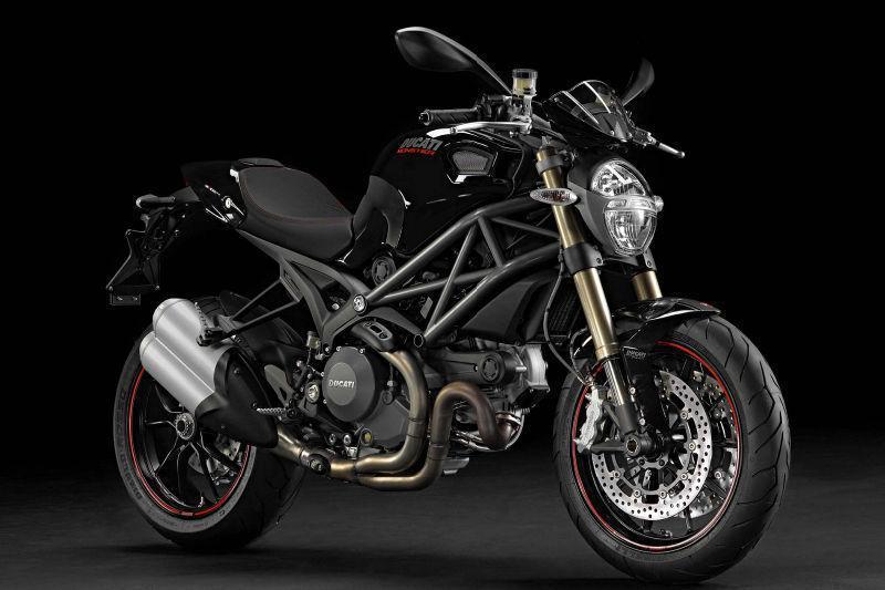 RECHERCHE - Ducati Monster EVO 1100, 2012 (noir)