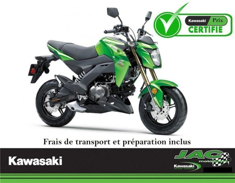 2017 Kawasaki Other Z125 PRO** Reservez la