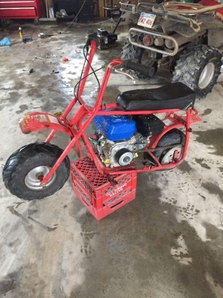 Baja Dirt Bug Mini Bike, 208cc Honda clone