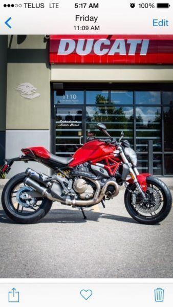2015 Ducati monster 821