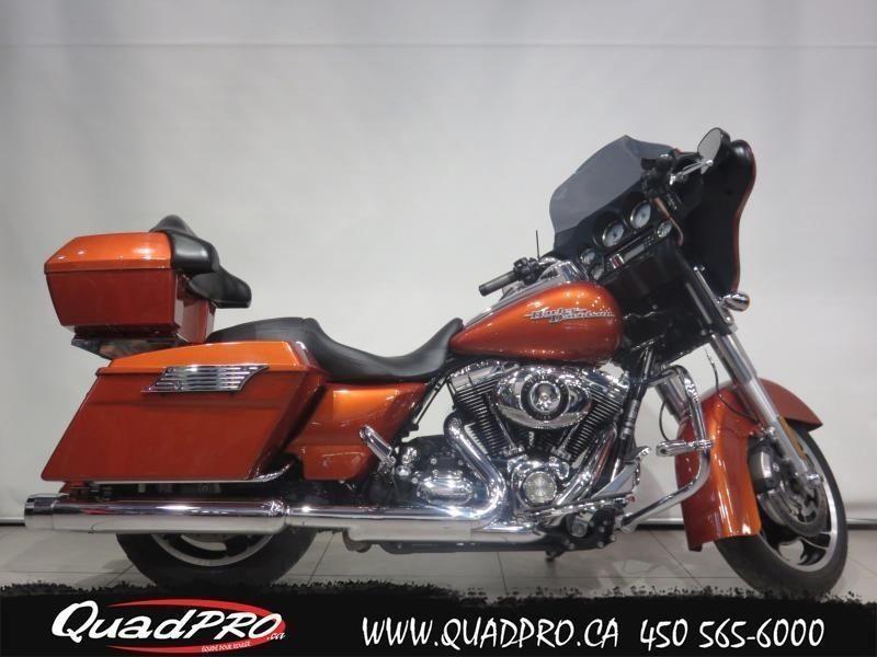 2011 Harley-Davidson FLHX SUNSET ORANGE !!! 80,51$/SEMAINE