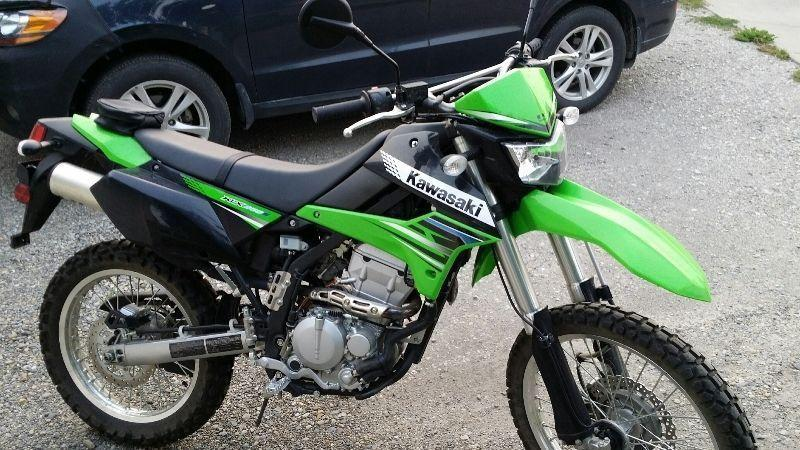 2012 KLX 250 Dual Sport, Like New Only 364KMs, Street Legal
