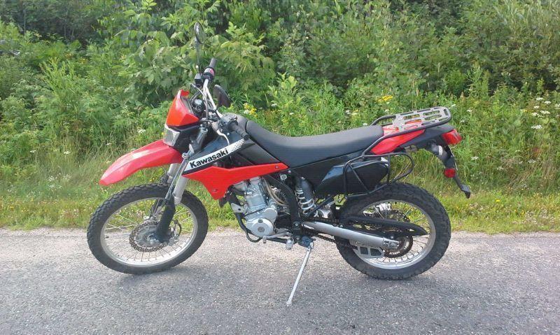 2012 kawasaki KLX 250s