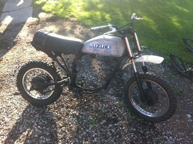 Parts bike suzuki ds80