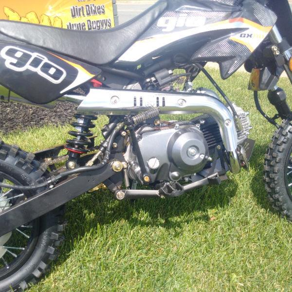 NEW!! 2016 GIO GX110 DIRT BIKE NOW ONLY $1099.99