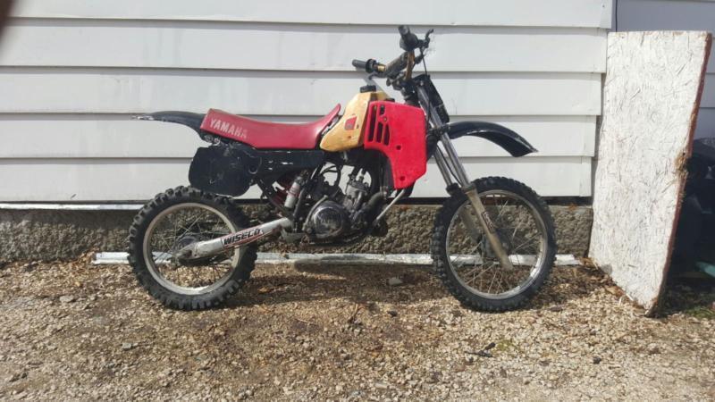 dirt bike yZ 80