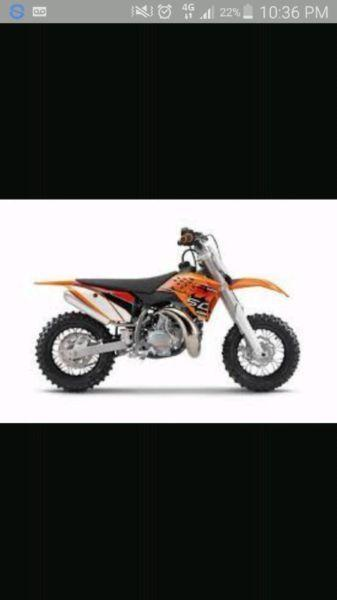 Looking for ktm 50 mini