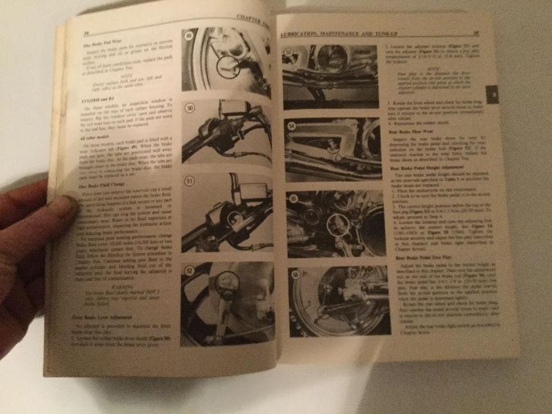 1981-1986 Yamaha XV700-1100 Virago Shop Manual XV902 XV1100