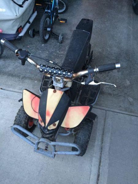 Custom pocket bike trike