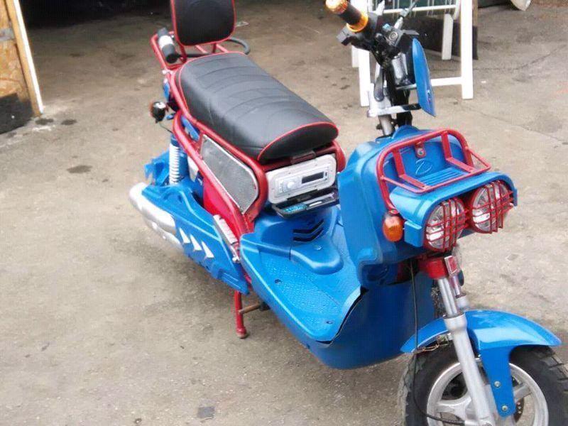 Daymak Ebike - Brick7 Motorcycle