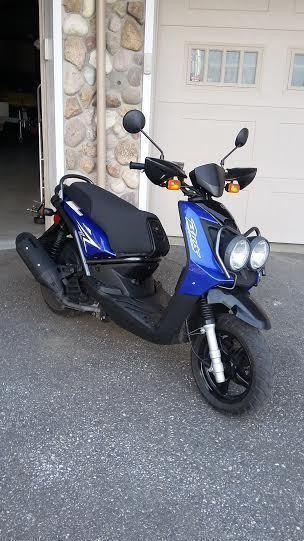 Yamaha BW125 Scooter