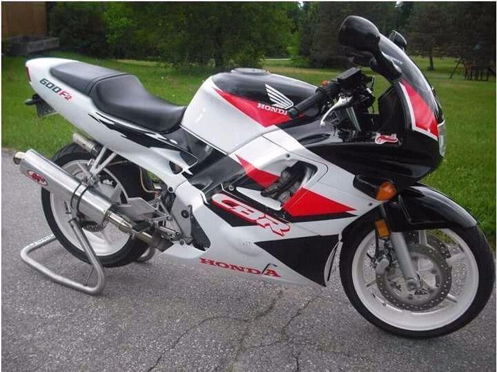 96 Honda CBR 600 F2