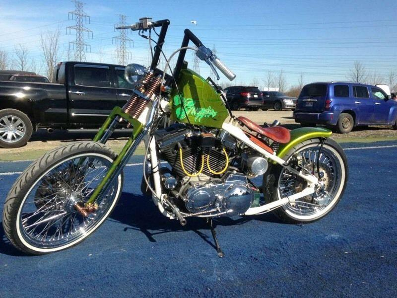 Custom Harley Hardtail One of a kind