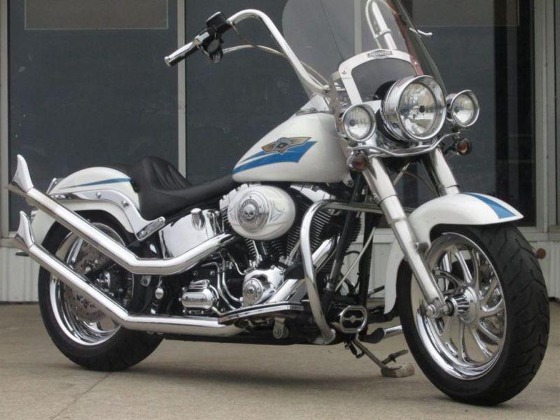 2007 Harley-Davidson FLSTF Fat Boy An Incredible Fat Boy FLSTF