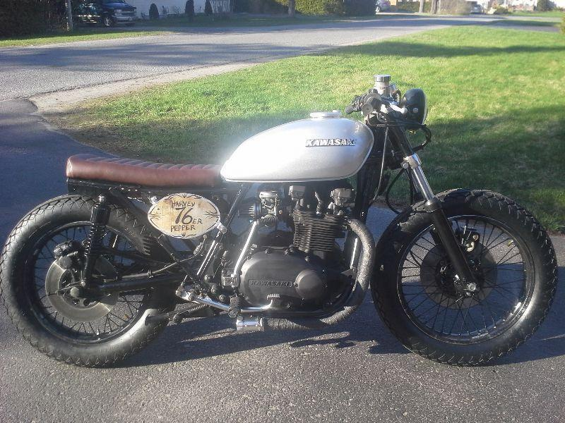 Kz750 Cafe - Brick7 Motorcycle