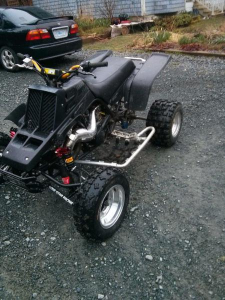 06 yamaha banshee built trade for other toy plus cash or?