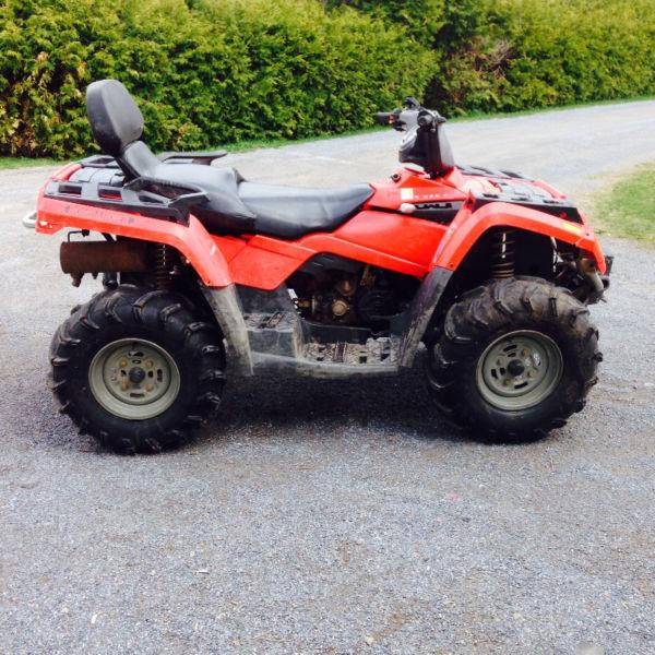 2005 outlander 400 max trade for dirt bike or enduro