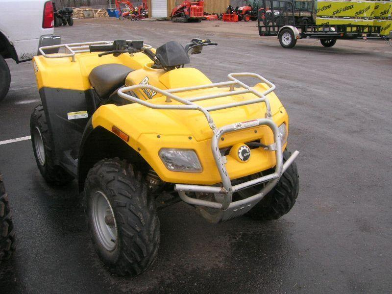 2006 Can Am Bombardier Rally 200 quad