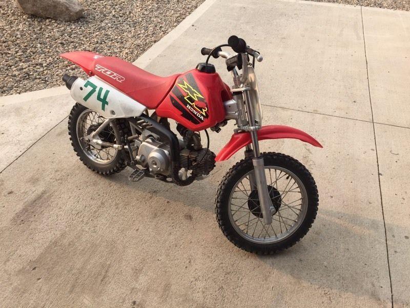 2000 Honda XR70 / CRF70 with 88cc big bore kit