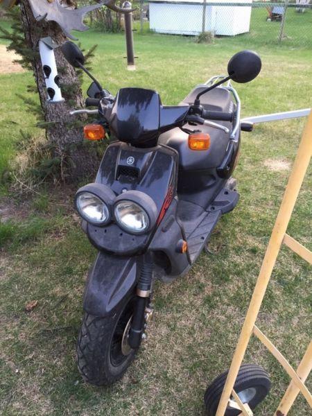 2009 Yamaha BWS 50cc Scooter