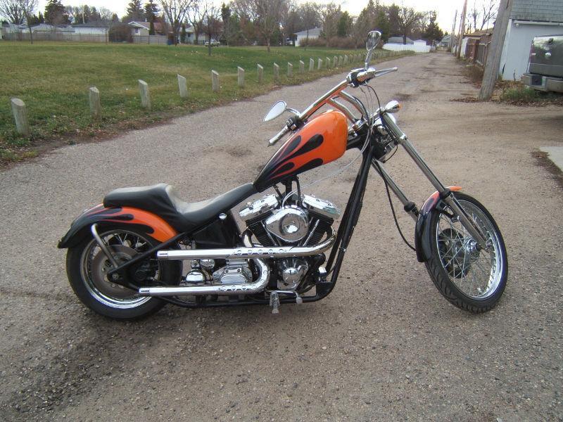 2006 Harley Davidson Custom Built Chopper