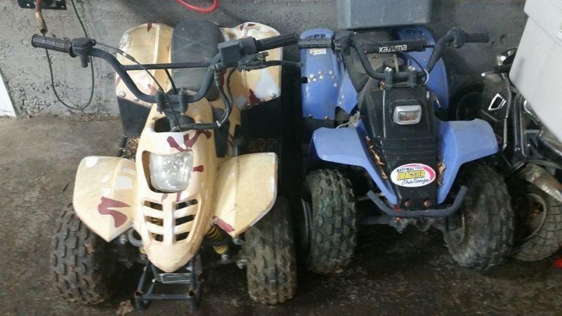 Kazuma 50cc and 50cc Quad