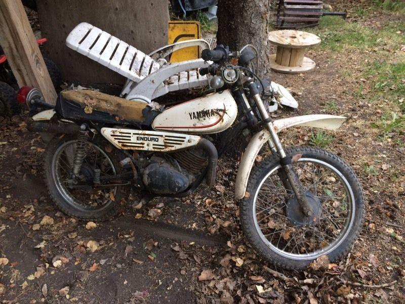 May long special Yamaha DT100 enduro 79 MX175