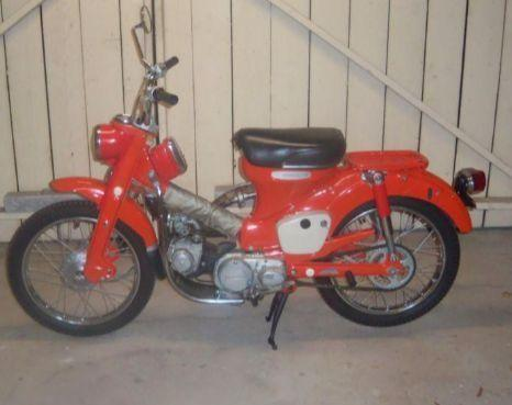 Rare 1968 Honda Ct90