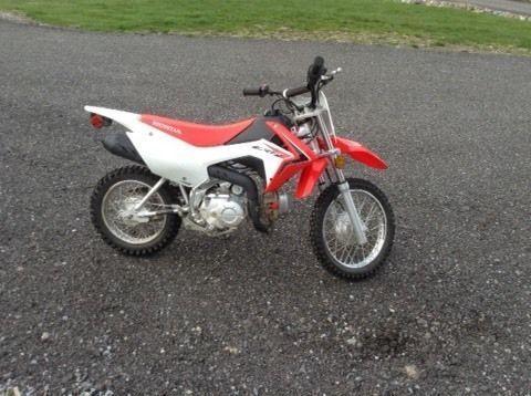 Honda crf110f dirt bike 2014