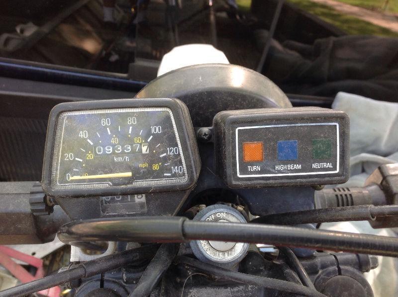 1982 Yamaha XT125 Dual Purpose Street Legal Dirt Bike