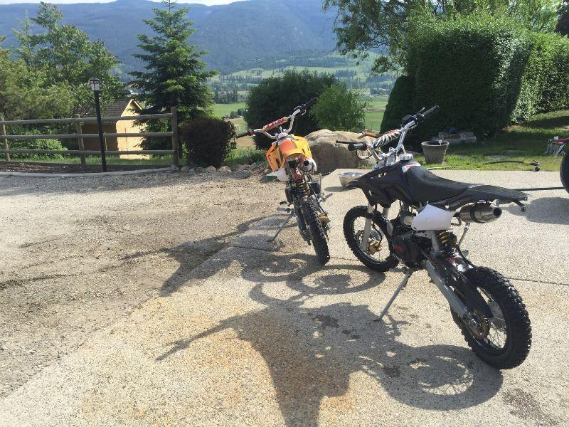 Wanted: Gio 125cc four stroke mini dirt bikes